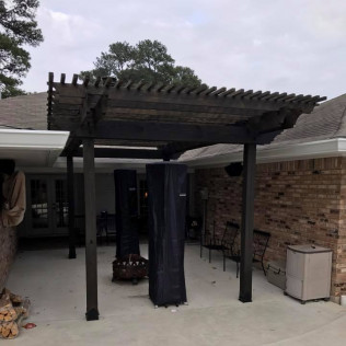 pergola installation shreveport la